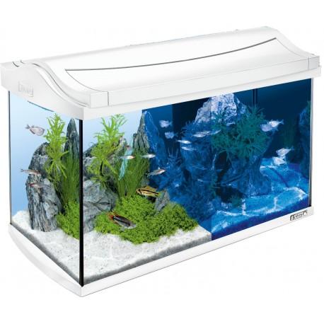 Tetra AquaArt LED 60 Litri Bianco Acquario Completo di Accessori