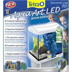 Tetra AquaArt LED 30 Litri Bianco Acquario Completo di Accessori