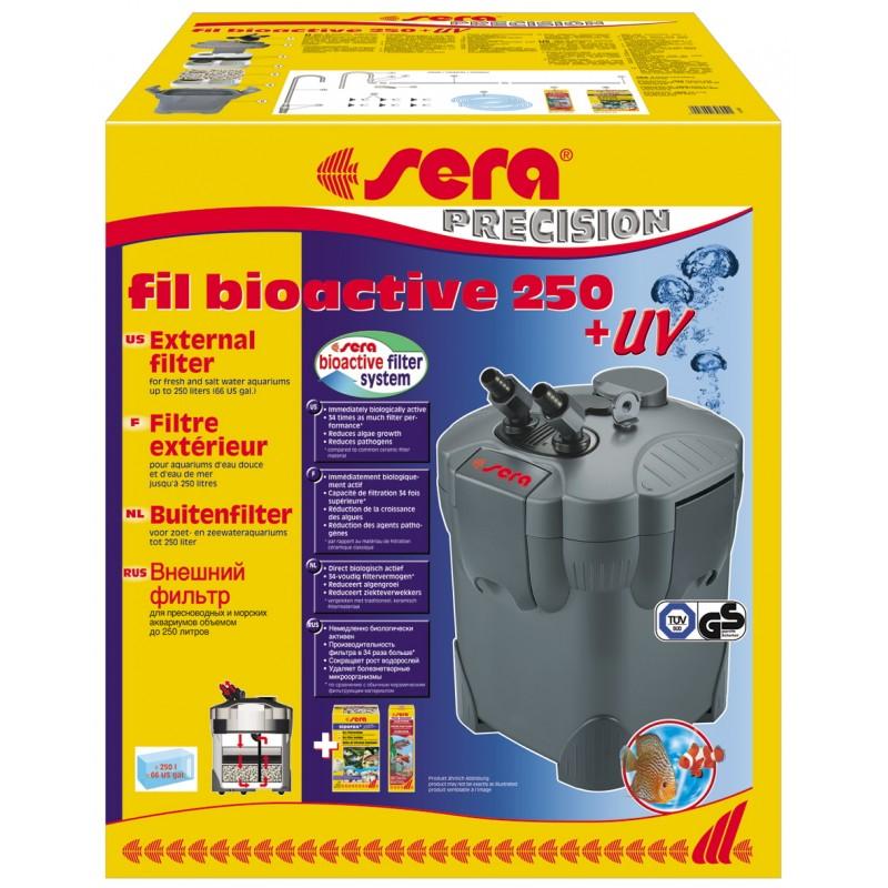 Filtro sera fil bioactive 250 uv per acquario for Filtro per acquario tartarughe