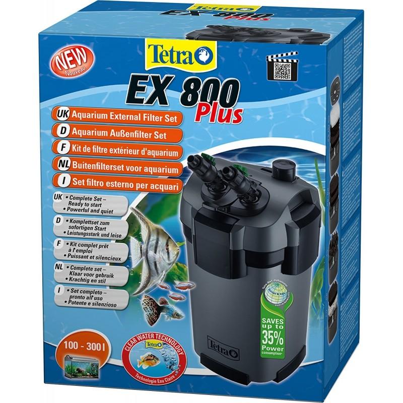 Filtro esterno tetra ex 800 plus per acquario for Filtro per acquario tartarughe