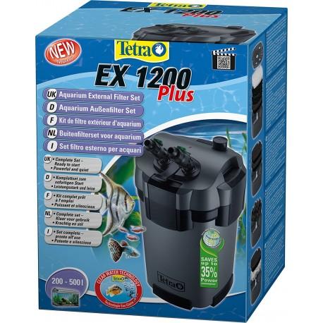 Tetra ex 1200 plus Filtro Esterno per Acquario 500 lt