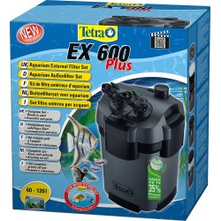 Tetra ex 600 plus Filtro Esterno per Acquario 120 lt