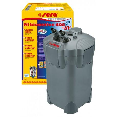 Sera Fil Bioactive 400 + UV Filtro esterno per Acquario 400 LT
