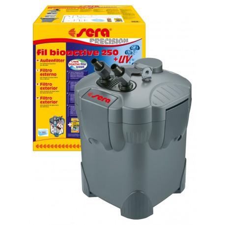 SERA Fil Bioactive 250 + UV Filtro esterno per Acquario 250 LT