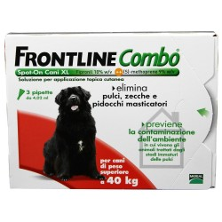 Antiparassitario Frontline Combo Spot on Cani Oltre 40 Kg