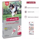 Advantix Bayer Spot On Antiparassitario per Cani 10 - 25 Kg