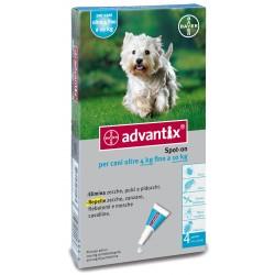 Advantix Bayer Spot On Antiparassitario per Cani 4 - 10 Kg
