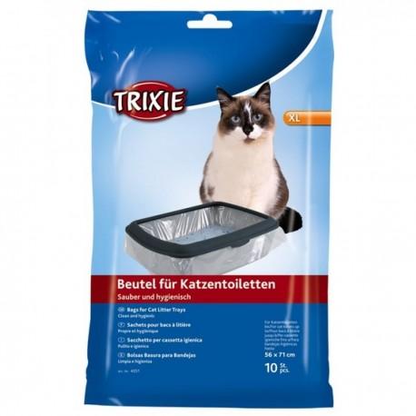 Trixie 10 sacchetti per cassetta igienica lettiera gatto mis. XL cod. 4051
