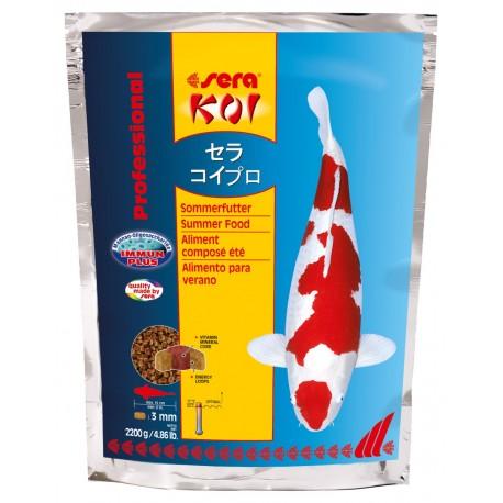 Sera Koi Professional Mangime per l'Estate 2200g per Pesci da Laghetto