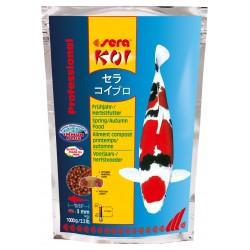 Sera Koi Professional Mangime per la Primavera e l'Autunno 1000g per Pesci laghetto