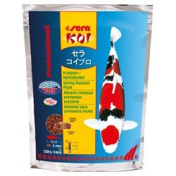 Sera Koi Professional Mangime per la Primavera e l'Autunno 2200g per Pesci laghetto