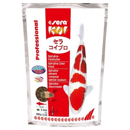 Sera KOI Professional Spirulina 1000g Mangime per i Colori