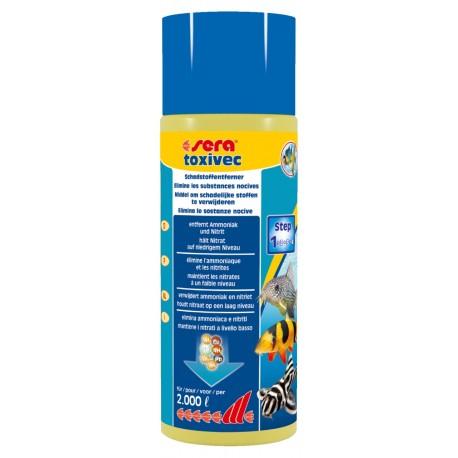 Sera Toxivec 500 ml Trattamento Anti Ammoniaca Nitriti