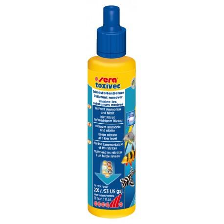 Sera Toxivec 50 ml Trattamento Anti Ammoniaca Nitriti