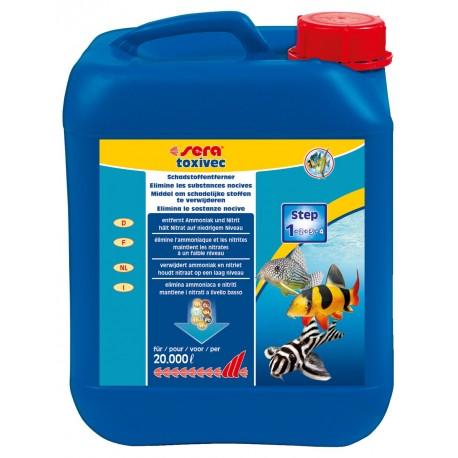 Sera Toxivec 5000 ml Trattamento Anti Ammoniaca Nitriti