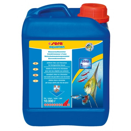 Sera Aquatan 2500 ml Biocondizionatore per Acquario