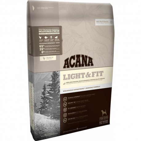 Acana Dog Heritage Light & Fit 11,4 kg Crocchette per Cani