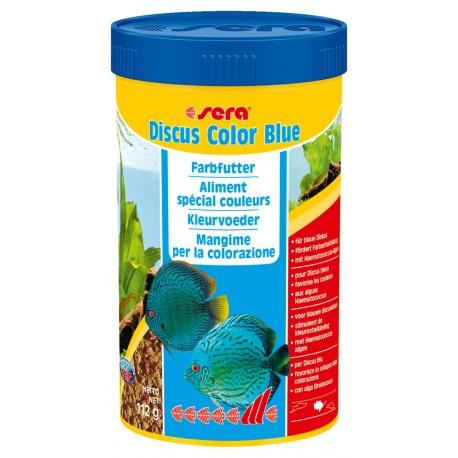 Sera Discus Color Blue 250 ml Mangime granulare per Discus
