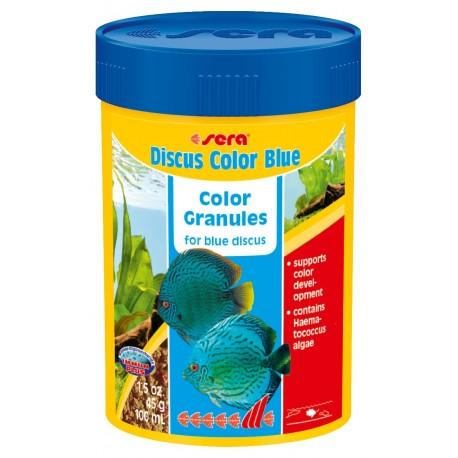 Sera Discus Color Blue 100 ml Mangime granulare per Discus