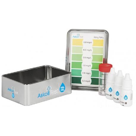 Askoll Test Misurazione NH3/NH4 (Ammoniaca / Ammonio) per Acquario