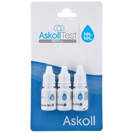 Askoll Ricarica Test NH3/NH4 (Ammoniaca / Ammonio) per Acquario