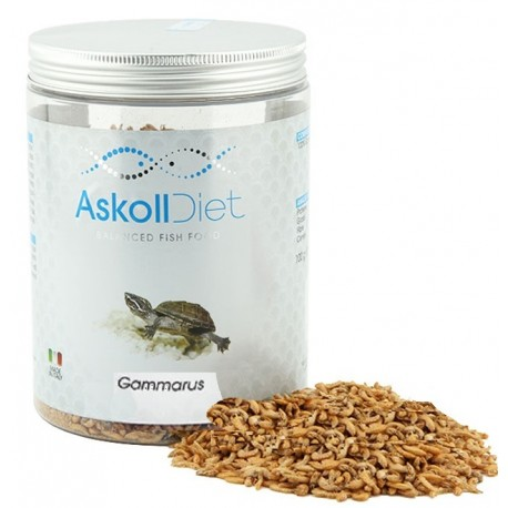 Askoll Diet Gammarus 1000 ml 100 gr Cibo per Tartarughe Acquatiche