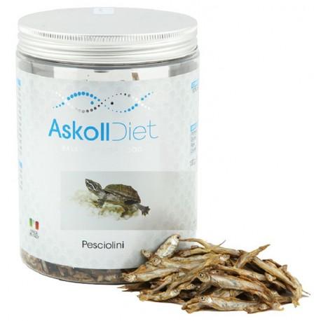 Askoll Diet Pesciolini 1000 ml 130 gr Cibo per Tartarughe Acquatiche