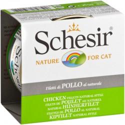 Schesir Cat 85 gr Filetti di Pollo al Naturale