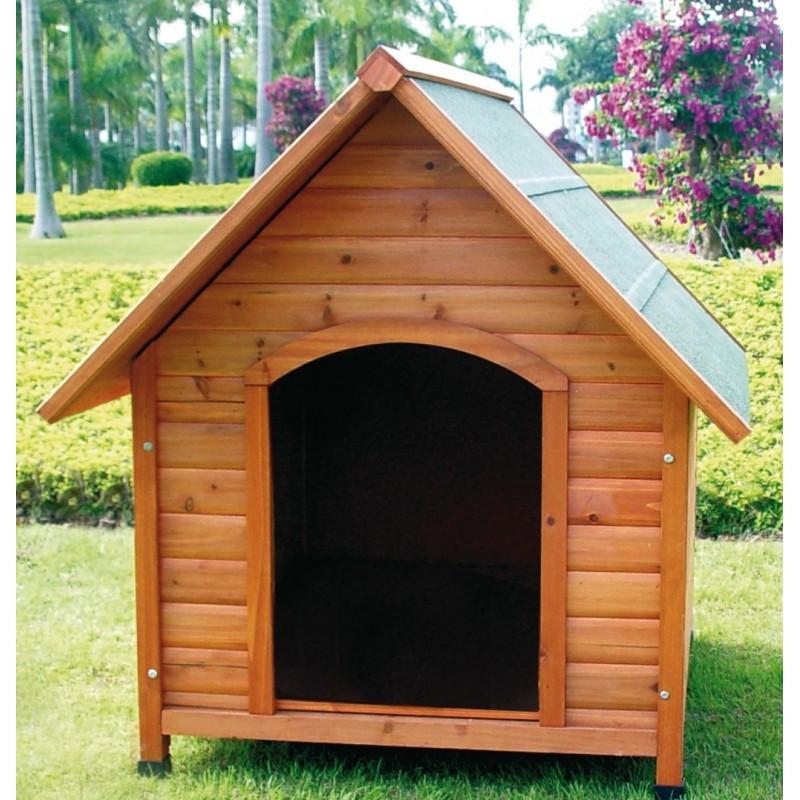 Cuccia chalet in legno per cane di taglia xl for Cucce da interno per cani taglia grande
