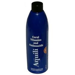 Aquili Coral Vitamine e Amminoacidi 250 ml per Pesci Acquario Marino