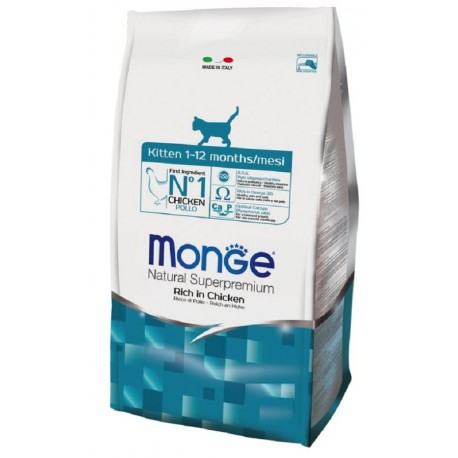 Monge Gatto Natural Superpremium Kitten 400 gr