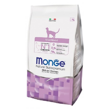 Monge Gatto Natural Superpremium Sterilised 400 gr