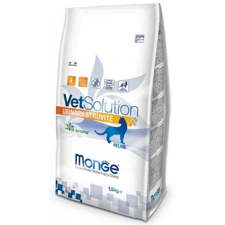 Monge Gatto VetSolution Urinary Struvite 1,5 Kg
