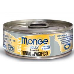 Monge Trancetti di Tonno del Pacifico in gelatina per gatto gr 80