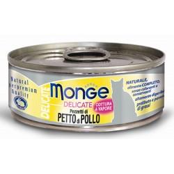Monge Delicate Pezzetti di Petto di Pollo per gatto gr 80