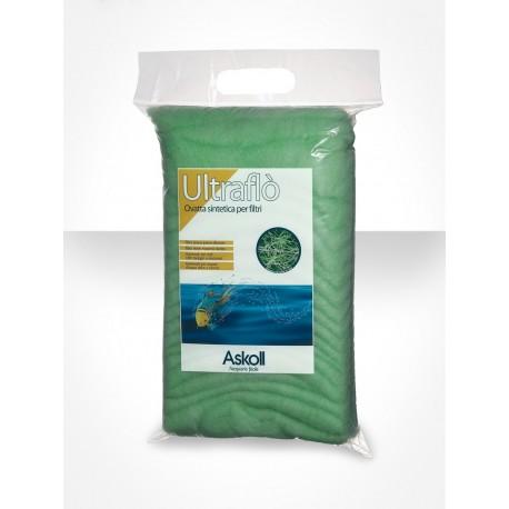Askoll UltraFlò 100 g ovatta sintetica a doppia fibra per acquario