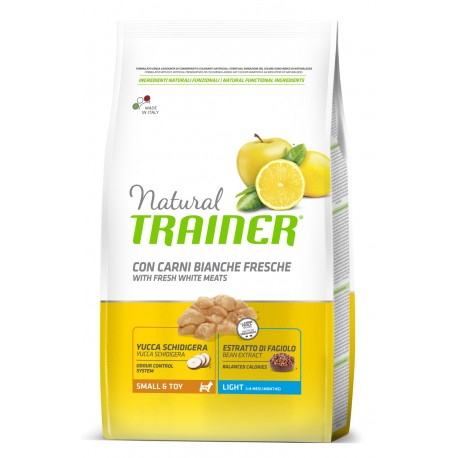 Trainer Natural Light Small & Toy ex Mini 7 Kg Cibo per Cane
