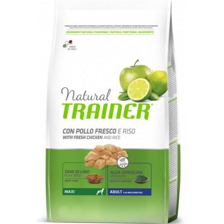 Trainer Natural Adult Maxi Pollo e Riso 12 Kg