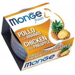 Monge Fruits Pollo con Ananas 80 gr