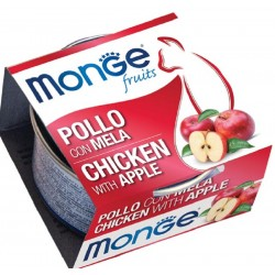 Monge Fruits Pollo con Mela 80 gr