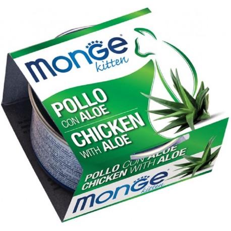 Monge Fruits Kitten Pollo e Aloe 80 gr