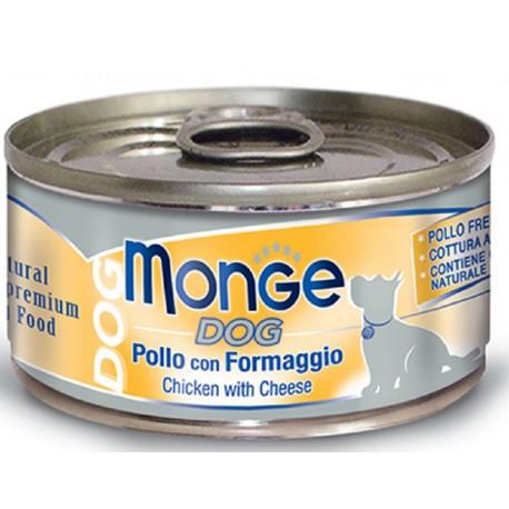 Monge Dog Natural Superpremium Pollo con Formaggio 95 gr