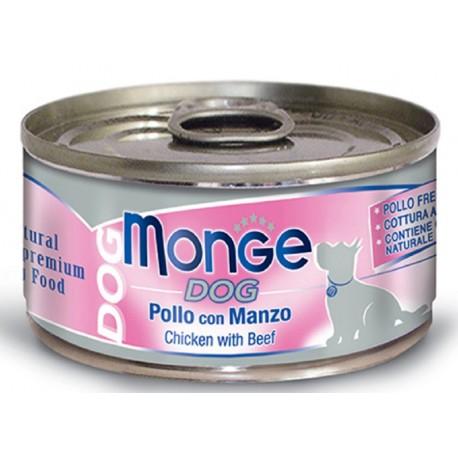 Monge Dog Natural Superpremium Pollo con Manzo 95 gr