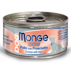 Monge Dog Natural Superpremium Pollo con Prosciutto 95 gr