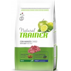 Trainer Natural Adult Maxi Manzo e Riso 12 Kg