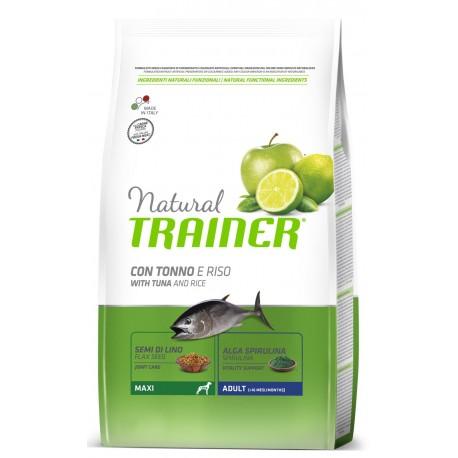 Trainer Natural Adult Maxi Tonno e Riso 12 Kg