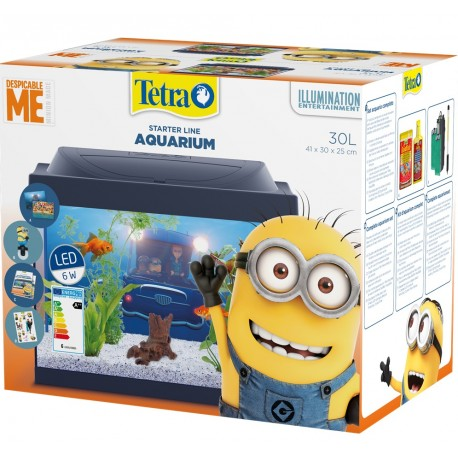 "Tetra Acquario ""Despicable Me"" Minions 30 L"