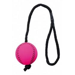 Trixie palla neon assortita con corda per cane cod. 3459