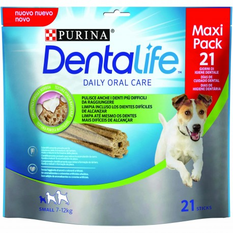 Purina Dentalife Small 21 Stick 345gr Snack per Cane