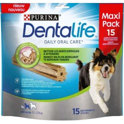 Purina Dentalife Medium 15 Stick 345gr Snack per Cane